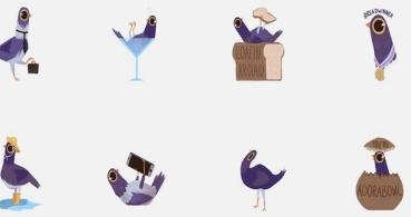 Añade los stickers de la paloma en Facebook fácilmente