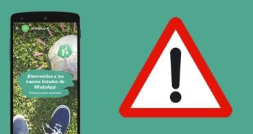 7 peligros que suponen los Estados de WhatsApp