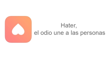 Hater, la red social para unir personas por lo que odian