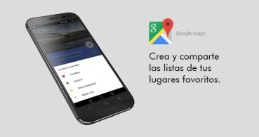 Crea listas de tus sitios favoritos en Google Maps