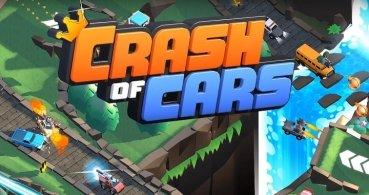 Descarga Crash of Cars, un juego de combates de coches para Android e iPhone