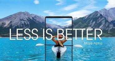 Maze Alpha, otro smartphone sin marcos