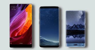 Mi Mix, Galaxy S8 y Doogee Mix, ¿qué batería usan los smartphones con pantalla sin marcos?