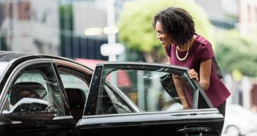 Huelga del taxi contra Cabify y Uber