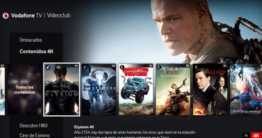 Vodafone One TV trae cine en 4K