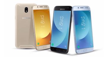 Samsung Galaxy J3, Galaxy J5 y Galaxy J7 (2017) ya son oficiales