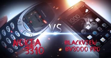 Blackview BV8000 Pro vs Nokia 3310, ¿cuál es más resistente y robusto?