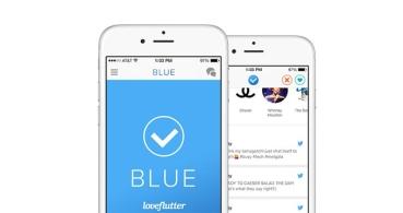 Blue, una aplicación de citas para usuarios verificados en Twitter
