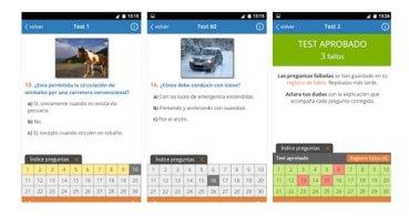 Descarga Todotest para practicar con tests de conducir