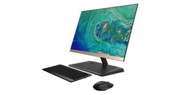 Acer Aspire S24, sobremesa todo en uno ultraplano con pantalla sin marcos