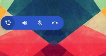 Android podría tener una barra flotante para controlar las llamadas