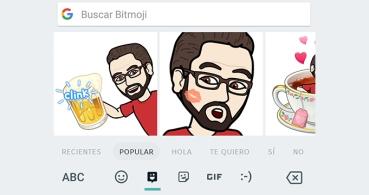 Gboard se actualiza con emojis personalizados y pegatinas de Bitmoji