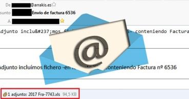 """Cuidado con los falsos """"envío de factura"""" que llegan por email"""