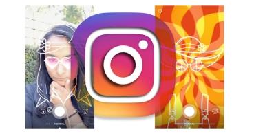 Instagram añade nuevas máscaras: un arcoíris y diferentes accesorios