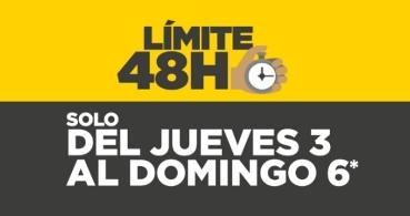 El Corte Inglés celebra el Límite 48 horas hasta el 6 de agosto