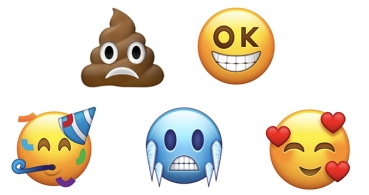 Los emojis de 2018 permitirán escoger la dirección a la que miran