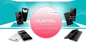 Oferta: 10 smartphones de Oukitel con descuento por tiempo limitado