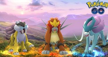 Raikou, Entei y Suicune llegarán dentro de poco a Pokémon Go