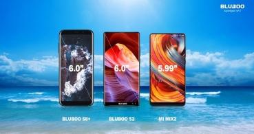 """Bluboo S8+ y S2, los dos próximos smartphones con """"pantalla completa 2.0"""""""