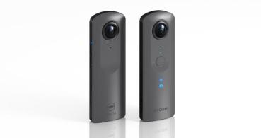 Theta V, la cámara portátil que hace fotos en 360 grados y graba en 4K