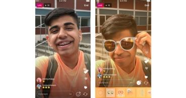 Instagram ya soporta máscaras y filtros en los vídeos en directo