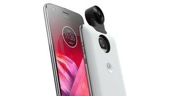 Nuevo Moto Mod 360 Camera: graba vídeos 4K en 360 grados