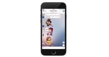 Telegram 4.3 añade stickers propios para los grupos y mejora las respuestas