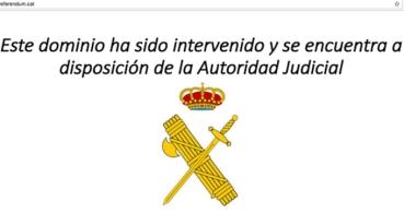 Nuevos bloqueos judiciales de páginas sobre el referéndum catalán
