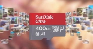 SanDisk Ultra microSDXC de 400 GB es la microSD con mayor capacidad del mundo