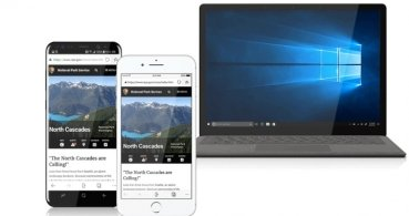 Edge, el navegador de Windows 10, llega a iPhone, y en breve a Android