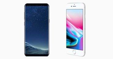 iPhone 8 vs Galaxy S8: ¿Cuáles son las diferencias?