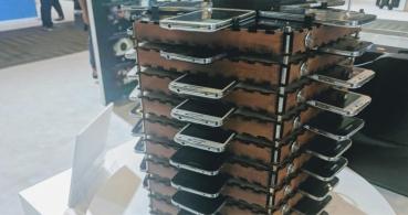 Samsung combina 40 Galaxy S5 para minar Bitcoin