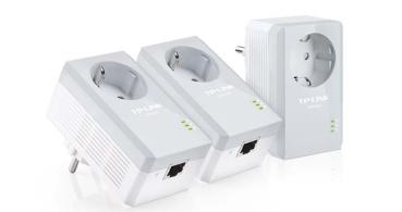 Oferta: TP-Link TL-PA4010PT, un kit de 3 PLC por 56 euros