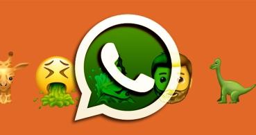 Los emojis de fantasía llegan a WhatsApp con T-Rex y muchos más