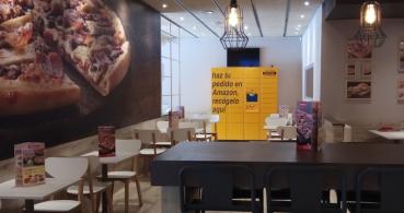 Amazon Locker dispondrá de armarios para recoger pedidos en Telepizza