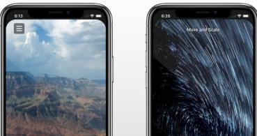 Elimina la muesca del iPhone para la cámara con esta app