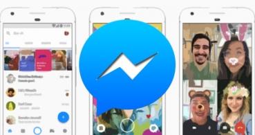 Facebook Messenger lanza nuevos efectos de cámara por Navidad
