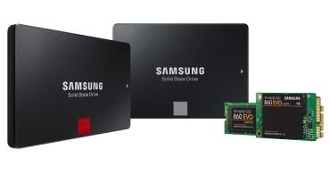 860 EVO y 860 PRO, los nuevos discos SSD de Samsung