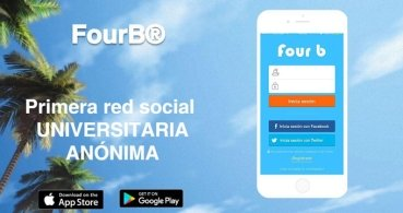 Descarga FourB, la red social universitaria anónima