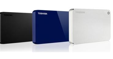 Toshiba renueva sus discos duros Canvio Premium, Advance y Basics