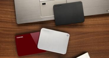 Toshiba lanza versiones de 4 TB de sus discos duros portátiles Canvio