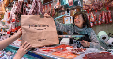 Amazon Prime Now llega a Valencia: alimentos frescos del mercado en solo 1 hora