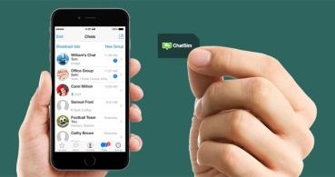 Chatsim 2 ofrece WhatsApp gratis en roaming, incluyendo fotos y vídeos