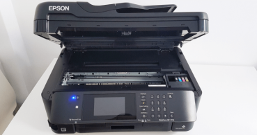 Review: Epson WorkForce WF-7710DWF, una impresora para pensar en grande