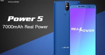 Leagoo Power 5, el smartphone con batería de 7.000 mAh