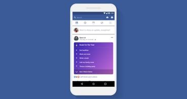Facebook lanza publicaciones con listas