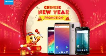 Conoce los smartphones de Ulefone en oferta por el Año Nuevo chino