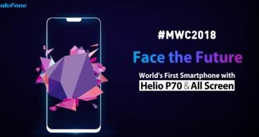 Ulefone T2 Pro será el primer smartphone del mundo con el procesador Helio P70
