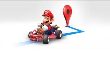 Google Maps nos permite jugar a Mario Kart por el Mario Day