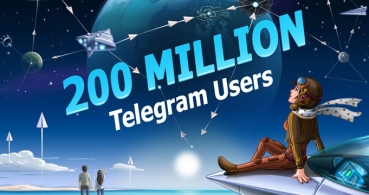 Telegram ya tiene 200 millones de usuarios